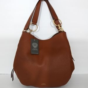 NWT VINCE CAMUTO LEATHER TOTE SHOULDER BAG